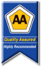 AA Quality Assured logo